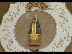 Artesanato: Prato decorativo de Nossa Senhora Aparecida | Sabor de Vida