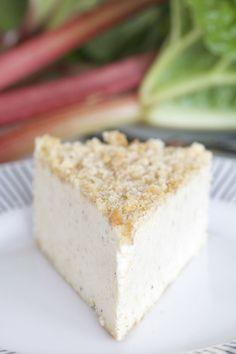 Frusen Rabarber Cheesecake