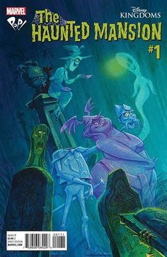 Pop! Comics hosted a Haunted Mansion #1 signing with variant cover artist, Jody Daily and other Disney imagineers and artists.