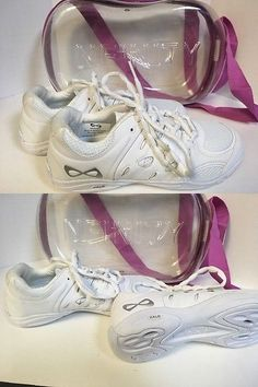 Cheerleading 66832: Nfinity Defiance Halo Girls Cheer Shoes - Size 6 -> BUY IT NOW ONLY: $70.5 on eBay!