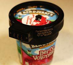 BRILLIANT!!!   Ben and Jerry's Ice Cream Lock