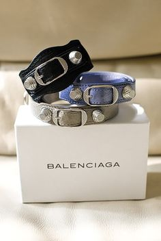 Balenciaga Bracelets - just the right colors and the right type