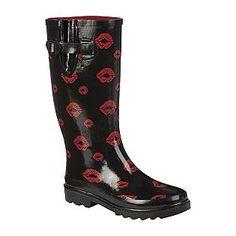 Bongo Women's Rain Boot - Lips