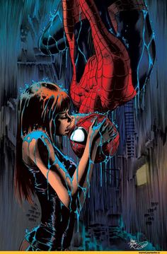 Spider-Man & Mary Jane Watson