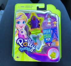 Polly Pocket Rockin Science Tiny Places Compact Set With Polly Stick for sale online Girl Doll Clothes, Doll Clothes Patterns, Girl Dolls, All Things Cute, Things To Sell, Polly Pocket World, Poly Pocket, Mermaid Tails For Kids, Ice Cream Set