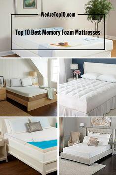 Top 10 Best Memory Foam Mattresses Reviews by Price & Rating!!! #BedMattresses #Bed #Bedroom