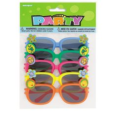 Ideal for summer parties and party bags, who doesn't love wearing a pair of novelty sunglasses? This pack comes in an assortment of colours with animal embellishments Novelty Sunglasses, Sports Sunglasses, Round Sunglasses, Barney Birthday, Party Bags, Party Favours, Goodie Bags, Novelty Gifts, Cute Boys