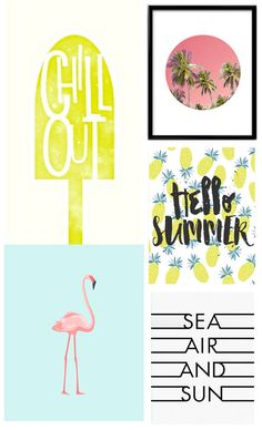 PRINTABLE SUMMER ART
