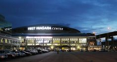 First Niagara Center, home of the Buffalo Sabres... Saw the Pens amazing win here last year!! Great trip!!