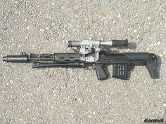 Custom SVU rifle