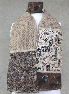 ddbceb7006d2 Écharpe   Étole Fantaisie Une belle idée de cadeau original et unique, à  offrir et