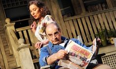 "Zoe Wanamaker and David Suchet in ""All My Sons"" by Arthur Miller, Apollo Theatre, 2010 (Photograph: Tristram Kenton)"