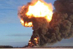 North Dakota Derailment Shows Dark Side of America's Oil Boom  Read more: Train Accident in North Dakota Shows the Dangers of Oil Transportation | TIME.com http://science.time.com/2013/12/31/north-dakota-rail-accident-and-oil-shipping-danger/#ixzz2pOG4xKIJ