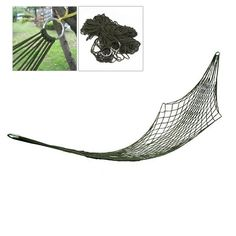Camp Sleeping Gear Smart 1pc Sleeping Hammock Hamaca Hamac Portable Garden Outdoor Camping Travel Furniture Mesh Hammock Swing Sleeping Bed Nylon Hangnet Sufficient Supply Camping & Hiking