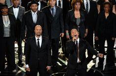Pin for Later: Die 55 besten Bilder der Oscars 2015 Common und John Legend