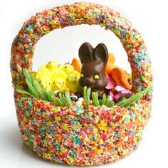 Edible Basket #easter #recipes