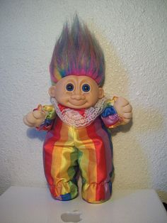 Troll Doll - Wish I still had my collection! My dad hated them...
