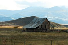 picturesque old barn outside of Bailey, Colorado