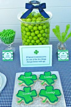 St. Patricks Party Ideas and Free Printables