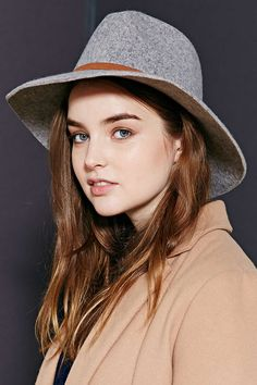 Long Brim Fedora - Urban Outfitters #dotshopsave