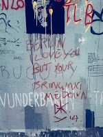 Berlin Wall, Germany.   Check out for more travel tips about Berlin!