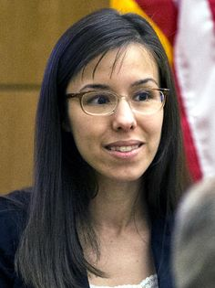 Jodi Arias is questioned by prosecutor Juan Martinez on March 5, 2013, in Maricopa County Superior Court in downtown Phoenix. Description from cbsnews.com. I searched for this on bing.com/images