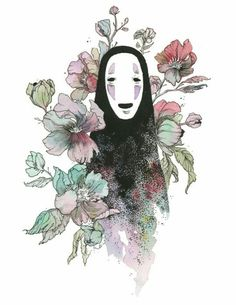 23 Ghibli inspired fan art that will lift your spirits - # fan art . - 23 Ghibli inspired fan art that will lift your spirits – - Art Studio Ghibli, Studio Ghibli Tattoo, Art And Illustration, Watercolor Illustration, Illustrations Posters, Watercolour, Anime Kunst, Anime Art, Manga Anime