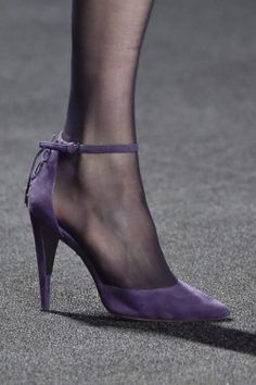 Monique Lhuillier Shoes At New York Fashion Week Fall Winter 2015  2016