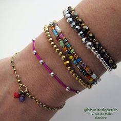 Diy Jewelry, Jewelry Accessories, Costume Jewelry, Beaded Bracelets, Detail, Fashion, Fashion Bracelets, Bracelets, Crystals
