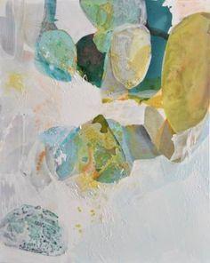 "Saatchi Art Artist Liz Barber; Painting, ""Promise of Spring 4"" #art"