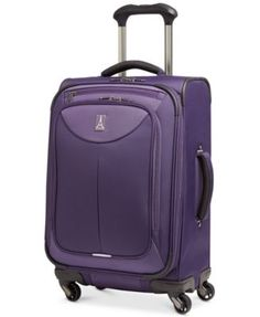 """LOSEOUT! Travelpro WalkAbout 2 21"""" Expandable Spinner Carry On Suitcase, Only at Macy's"""