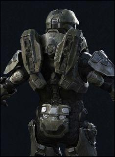 Master Chief by Mathieu Aerni Master Chief And Cortana, Halo Master Chief, Cortana Cosplay, Iron Man Fan Art, New Halo, Halo Armor, Hard Surface Modeling, Environment Concept Art, Body Armor