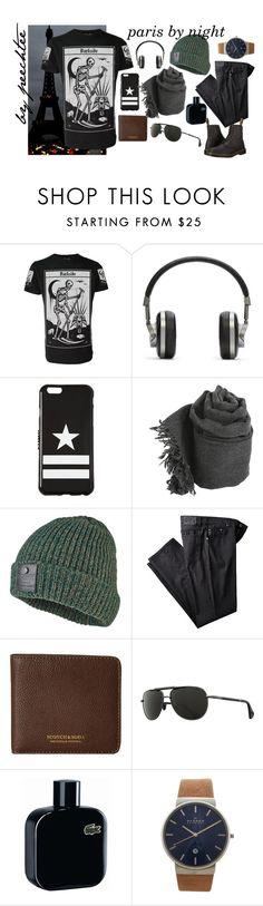 """""""paris by night"""" by peechtee ❤ liked on Polyvore featuring Master & Dynamic, Givenchy, Faliero Sarti, Superdry, Scotch & Soda, Zeal, Lacoste, Skagen, Dr. Martens and paris"""