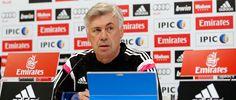 """Ancelotti: """"Queremos ganar en Getafe y mantener la cabeza de la Liga"""""""