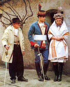 costume of Velká nad Veličkou, Horňácko, Slovácko, Moravia