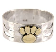 This simple ring design is so beautiful AND every purchase helps animals in need. It's a win-win situation!