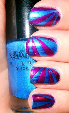 31 Day Challenge - Day 8: Metallic Nails http://paintedfingertips.wordpress.com/2013/09/08/31-day-challenge-day-8-metallic-nails/