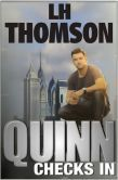 """(MindingSpot: """"...mafia, police, art heists and investigating mixed with some spectacular writing...a great whodunnit that will keep you thoroughly entertained.""""Quinn Checks In is rated at 5 stars with 1 Review on BN and has 4.1 stars with 61 Reviews on Amazon)"""
