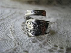 Spoon Ring  Spoon Jewelry Flatware Jewelry by TheBeadLadies, $28.00
