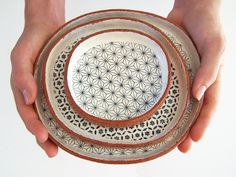 Use these handmade tapas plates to serve hors d'oeuvres, cheese and crackers, or simply as a decorative art object. #etsy