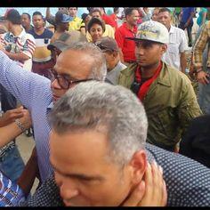 en directo: Video de la llegada del Senador Felix Nova y Maico...