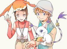 Me gusta este intercambio de Digimons.
