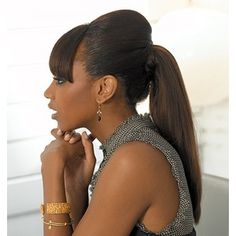 African American Ponytail Hairstyles | Ponytail black hairstyles | thirstyroots.com: Black Hairstyles and ...my next hair style