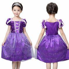👄Disney Rapunzel Peincess costume 👄in stock . in stock . in stock 👄Low MOQ. Factory price . Nice quality 👄Whatsapp Ben(+86 18607081193)…