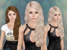 Cazy's Amelia Hairstyle - Set  #TS3 #createasim