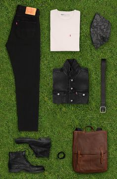 Outfit grid - Camp out in style