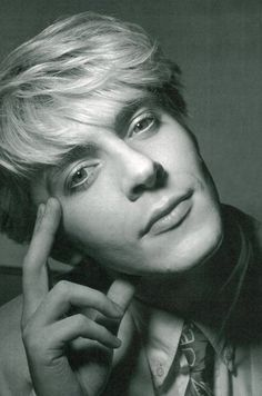 Nick Rhodes - My favorite Duran.  Beauty, intellect and a fantastic musician all in one? Be still my heart.  My tween crush on him sparked a life long fascination with all things English.