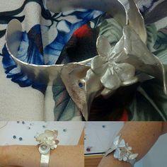 Pulsera plata y zafiro. Joya personalizada y exclusiva