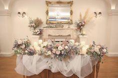 【2018年版】テイスト別*高砂ソファアイデアまとめ♡ Head Table Wedding, Wedding Guest Book, Our Wedding, Floral Wedding Decorations, Wedding Colors, Wedding Flowers, Guest Book Table, Cinderella Wedding, Wedding Coordinator