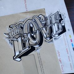 Lettering on Everyday Objects by Rob Draper_1